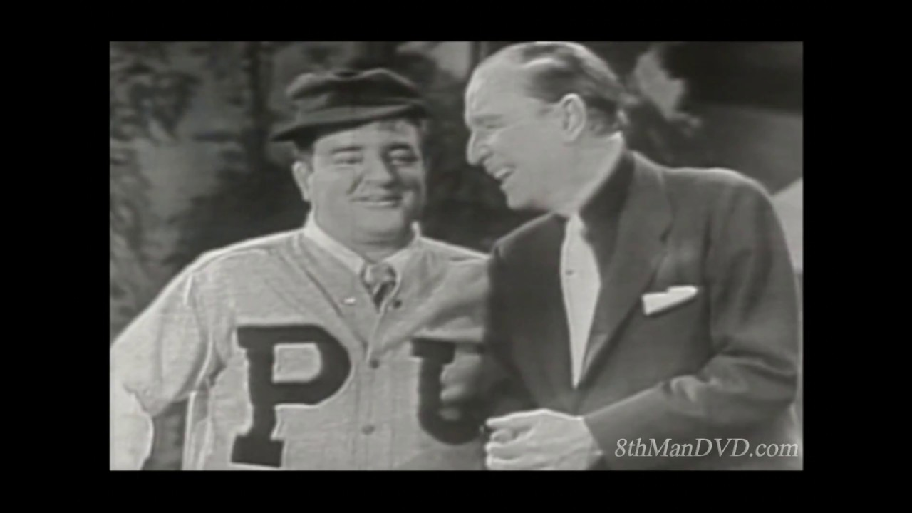 The abbott and costello show whos on first